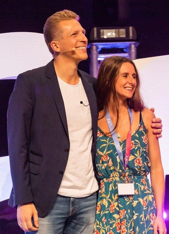 Tobi Beck und Laura Malina Seiler